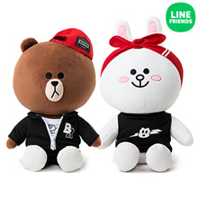 [LINE FRIENDS] BEAT BROWN_CUDDLE DOLL 30CM