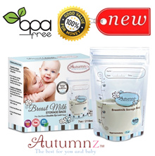 Autumnz Breast Milk Storage Bags ♥ 5oz / 7oz / 12oz breastmilk storage bags