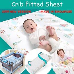 Crib Fitted Sheet*4/1/20 size customiization Crib/Cot Fitted sheet/Fitted Crib sheet