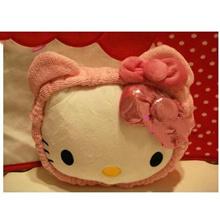 Hair band absorbent elastic cat ear headband