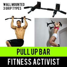 ⏰💪★★Fitness Activist★★Wall Mounted Pull-up/Chin-up Bar★★Singapore Seller★★Fast Qxpress Delivery★★
