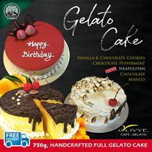 ★ FREE DELIVERY ★ [Olivye Cafe Gelato] Gelato Cakes!!! 750g