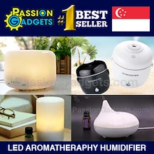 ★SG Seller★MUJI Aroma Fragrance Oil Diffuser Mist Ultrasonic Humidifier★Light Table Lamp Rainbow