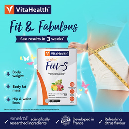 Fiit-S Slimming drink*Detox*Diet*Fit *Burns Fat*Citrus fruits *Vegetarian 30 sachet
