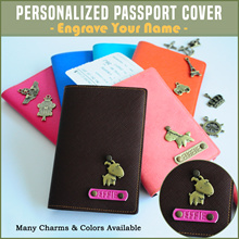 [Travel] ✈ Passport Cover Organizer Card Customised Holiday Wallet Office Personalised School Gift