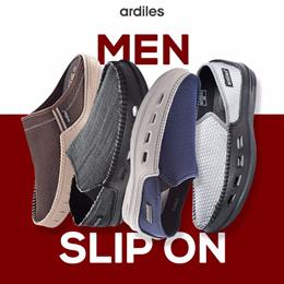 [Ardiles] ★GREAT DEALS - Slip On Men Shoes / Sepatu / Sepatu Pria / Slip On Pria