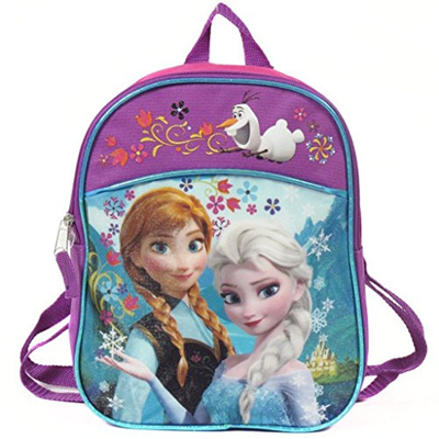 DISNEY FROZEN  11 Mini Toddler Pre-school Childrens Backpack - Anna and  Elsa 5c54c122ced41
