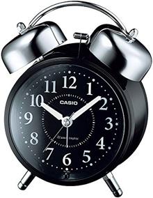 CASIO Casio clock Analog radio wake-up loud volume Bell alarm second hand with stop function TQ-720J-1 BJF