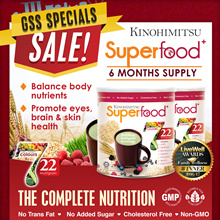 HAPPY PARENTS DAY TIMESALE! Superfood+ (500g x 6 tins)  6MTH SUPPLY [22 Multigrains Nutritious Drink
