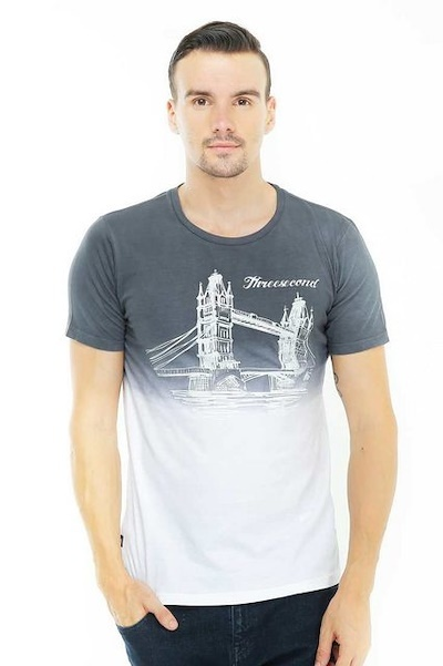 3Second Men Tshirt Deals for only Rp134.000 instead of Rp134.000