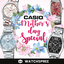[MOTHER DAY SPECIAL] CASIO Ladies Metal Bracelet Watches for Her! Free Shipping and Warranty!