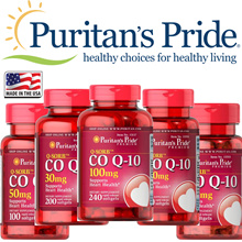 Puritans Pride Q-SORB™ Co Q-10 100 mg / 240 Softgels / 120 Softgels / 60 Softgels / 50 mg 100 softgels / 30 mg 200 Softgels