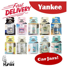 Bundle of 2 | Yankee Candle Car Jar / Car Fragrance / Scented Car Jar
