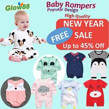 Restock 15Jan2018* 100% Cotton Baby Rompers *Baby Gifts*Baby Birthday* Kids Leggings* Baby Bibs