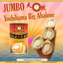 ♛JUMBO Brine Yoshihama XL Abalone♛ 4H 150g Size with Free Gift!