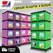 New JOFER Lemari Plastik 4 Susun Dilengkapi Kunci Avalaible 6 Warna ( FREE DELIVERY JABODETABEK )