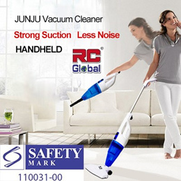 Portable Vacuum Cleaner JJ-318 (SG Safety Mark plug) 2 合一 手持吸尘机 ( 1 HEPA Filter )