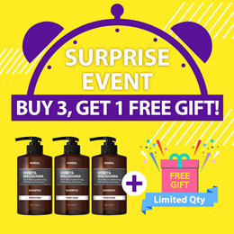 ✨BUY 3 GET 1 FREE✨[KUNDAL] Hair care / Body Care / Hand Care / Personal Care