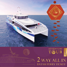 *CNY SALE* Batam Two-Way 2-Way Ferry Ticket Inclusive of all Taxes  *CNY SALE*