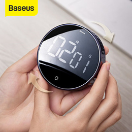 Baseus Magnetic Digital Timers Manual Countdown Kitchen Timer Countdown Alarm Clock Mechanical Timer