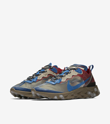 Nike x Undercover React Element 87 Beige Chalk (Code: BQ2718 200)