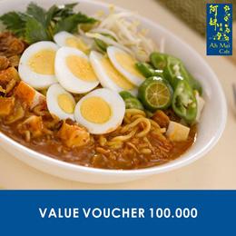 [FOOD] Ah Mei Cafe Value Voucher 100.000