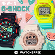 *APPLY 25% OFF COUPONS* G-SHOCK NEW IN 2018/2019 New Arrivals. Free Shipping and 1 Year Warranty.
