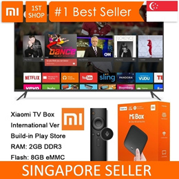 💖LOCAL SELLER💖 [Xiaomi TV Box International] Int Version Android 6.0 Internet TV Box III 4K Versio
