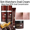 KOREA Skin Watchers Whitening + Anti-aging Snail Cream (Effective for healing Acne Scars/ Anti-aging/ Skin Rejuvenation