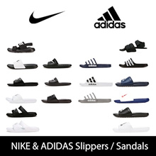 ★ 100% genuine ★ Nike / Adidas BEST summer slippers + sandals / lowest comparison required / slippery sandals lightweight and comfortable