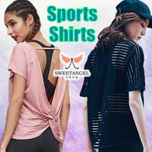 (2018 Sales)[SweetangelShop Local Seller/Exchange] - Ladies Sports Gym Yoga Zumba Shirt