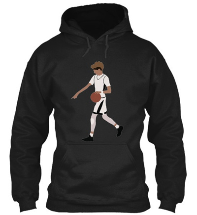 87f7ad672 Qoo10 - Lamelo Ball Pull-up From Half Court Gildan Hoodie Sweatshirt ...