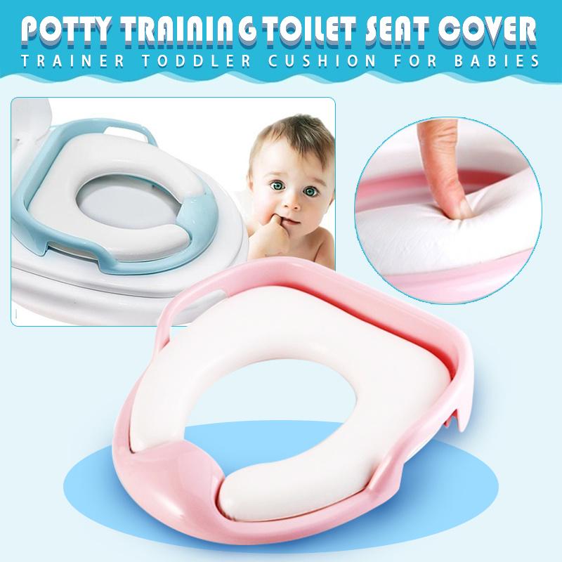 Qoo10 - Children Toilets with Handles Kids Safe Potty Seat Belt ...
