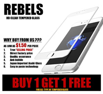 (BUY 1 FREE 1) TEMPERED GLASS. IPHONE 5/6/7/8/ PLUS/ X SAMSUNG OPPO CHEAP SCREEN PROTECTOR APPLE
