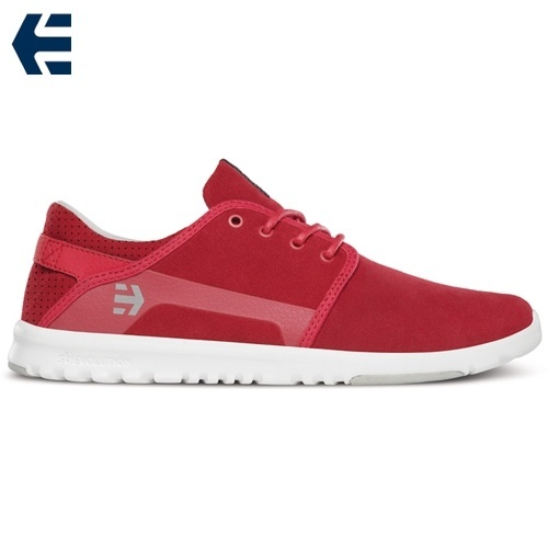 red etnies shoes