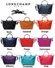 Long Champ 100% Authentic Le Pliage Néo 1512/1515/1899 Handbag [Ready Stock]