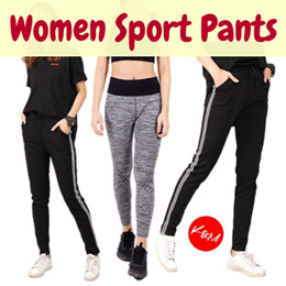BUY 3 FREE SHIPPING【READY STOCK】Fitness Sport Pants Yoga Pants/Activate Sport Pants/Black Sporting Track Pants