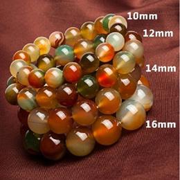 Natural agate bracelets for men/for gift天然玛瑙手串珠子佛珠手饰品