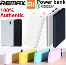 Free gift!100% Authentic Remax/Xiaomi Mi PowerBank/Power Bank/30000mAh/20000mAh/ 10000mAh dual/4 USB