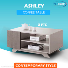【ASHLEY】 Simple Modern Coffee Table/TV Console/ Coffee Table/Furniture/Cabinet/Bed side table