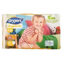 Drypers Drypantz XXL 15-25kg Disposable Diaper Pants 36pcs [Halal Certification]