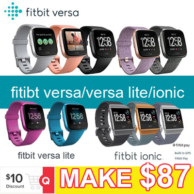 89a3686fdc6e1a ☆Clearance Sale☆Fitbit Versa Lite ionic Watch band Heart Rate Activity  Tracker -No