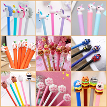[my1stshop]Christmas Pen/Unicorn/Gudetama/Totoro/Super Hero/Carrot/Minion Character Pen