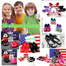 Melissa shoes kids shoes very sofa and comfortable for kids and baby to wear sandals slipper