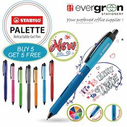 10 x STABILO PALETTE 0.5mm Gel Ink Pen  for $10.90