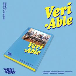 [KIHNO ALBUM] VERIVERY - VERI-ABLE KIHNO KIT+32 Photocard set+4 Post card+Crdit  Track List+Guide