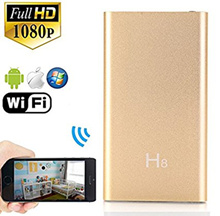 WIFI 1080 Recording Hidden Camera Night Vision Full HD Spy Cam Video Recorder  Power Bank DVR