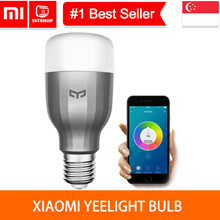 💖READY STOCK💖 [Xiaomi YEELIGHT E27 BULB] Xiaomi  Smart LED Bulb IDMA APPROVED - 1stshop SINGAPORE