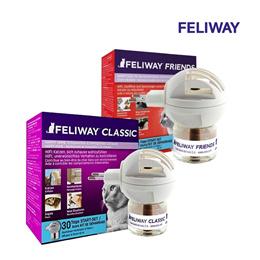 FELIWAY 펠리웨이 디퓨저세트 / 스타터키트 (디퓨저 기기 1개 + 리필48ml 1개) / 클래식 / 프렌즈 / 고양이 심리안정 / 멀티켓 / 고양이간 갈등완화 / 합사