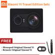 [100% Original]Xiaomi Yi Sport Action Camera International Version Monopod + Remote Original - Garansi 1 Tahun Bundling Package Xiaomi Yi Garansi Distributor 1 Tahun